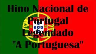 """Hino Nacional de Portugal - Legendado - """"A Portuguesa"""""""