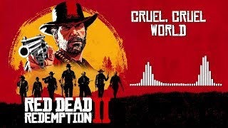 Red Dead Redemption 2 Official Soundtrack - Cruel, Cruel World (ending music) | HD (With Visualizer)