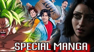 SPECIAL MANGA! NICKY LARSON, ALITA, BROLY : TRIPLE CRITIQUE !
