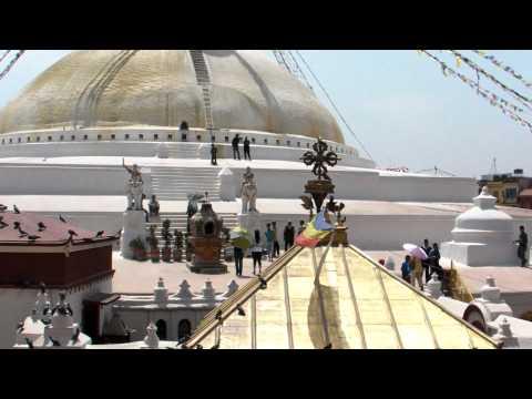 SANY0707.MP4 BoudhaNath Stupa Movie