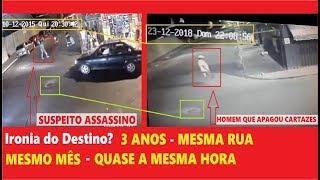 Caso Beatriz Homem Apaga Cartazes de Foragido Vídeo Inédito