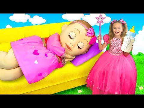 Download Video Sasha Plays With A Big Baby Doll
