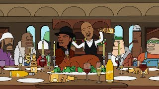 2Pac - All Eyez on Me - Animated Music Video by Rough Sketchz