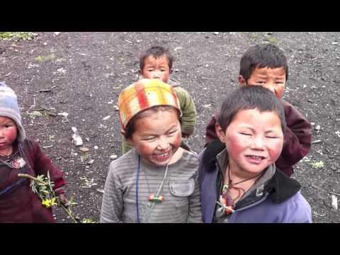 Nepal – Manasou trekking 2011 – Enfant à Chyala (3504m)
