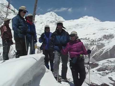 Team J'aime Québec Adventure Nepal Langtang 2012.