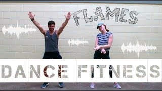 Flames - David Guetta & Sia | Get Low with Chlo | Dance Fitness