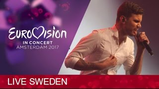 Robin Bengtsson- I Can't Go On (Eurovision Sweden 2017) LIVE @Eurovision In Concert (Amsterdam)