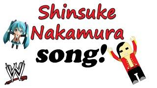 Shinsuke Nakamura theme song with lyrics ( Official ) WWE The Rising Sun 中邑 真輔, 初音ミク