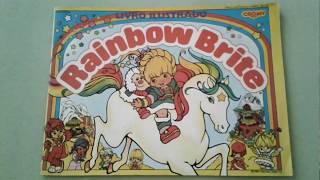 Álbum de figurinhas Rainbow Brite - 1988 (completo)