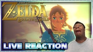 The Legend of Zelda: Breath of the Wild Trailer Live Reaction | Nintendo Switch Direct Live Reaction