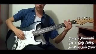 Aerosmith - Crazy Solo Cover
