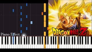 Dragon Ball Z - Ascension (SSJ3 Goku) (Piano Tutorial Synthesia)