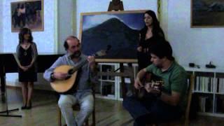"""Mónica Caroça canta """"Ó meu amor marinheiro"""" (Fernanda Maria)"""