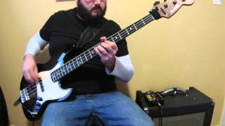 Killer Be Killed - Wings Of Feather And Wax (Bass Cover) - Heavy Metal Bass Lesson
