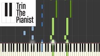 Prelude 2- Dustin O´halloran - Piano Tutorial + sheets [Synthesia]