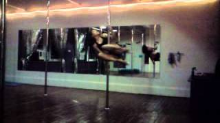 Kimi Kay Pole Dancing March 2011
