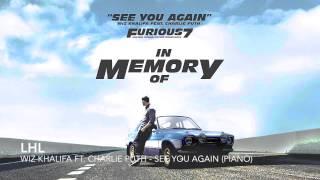 Wiz Khalifa ft. Charlie Puth - See You Again (Piano)