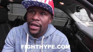 "FLOYD MAYWEATHER TELLS RONDA ROUSEY ""HOLD YOUR HEAD UP""; COMMENTS ON KO LOSS TO NUNES"