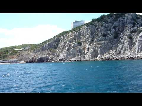 Swallow's Nest – view from the tour boat