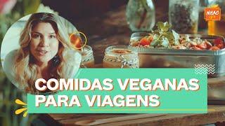 Comida vegana para viagens: Salada de quinoa e creme de caramelo | Alana Rox | Diário de Uma Vegana