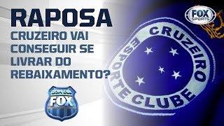 CAMPANHA DE REBAIXAMENTO? Veja análise sobre a situação do Cruzeiro no Brasileirão