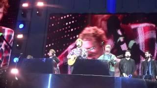 Molly Malone - Ed Sheeran ft.Kodaline & Glen Hansard - Croke Park 25/07/2015