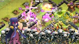 Clash of Clans - Nearly Maxed Town Hall 11 = 3 STARRED!