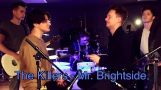 "Brad from ""The Vamps"" 4x loop (The Killers - Mr. Brightside)"