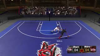 NBA 2K18 De'Aaron Fox Vs. Dennis Smith JR! ONE ON ONE (NBA BLACKTOP)