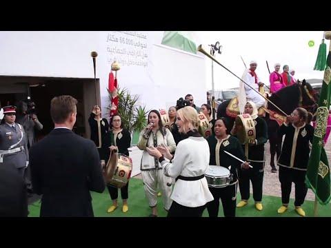 Video : Ivanka Trump à la rencontre des soulaliyates de la région du Gharb