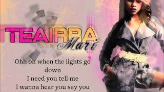 Lights Go Down - T. Mari