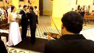 Entrada da Noiva    Armagedom  I Don't Want To Miss A Thing (Violino)    Banda Skema 3