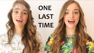 ONE LAST TIME - Ariana Grande | Twin Melody Cover !