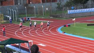 Michele Carrozza 200m CNU  cus Chieti