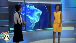 Previsão do tempo - Sandra e Maju - Paródia Tal Qual Dublagens