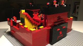 LEGO MOC: BLACK CRESCENT CASTLE