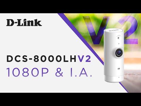 Conheça a nova versão da Câmera Inteligente DCS-8000LH