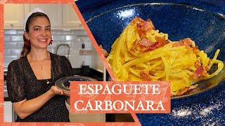 ESPAGUETE À CARBONARA 2.0 - Menos ingredientes e mais sabor! | LU ZAIDAN
