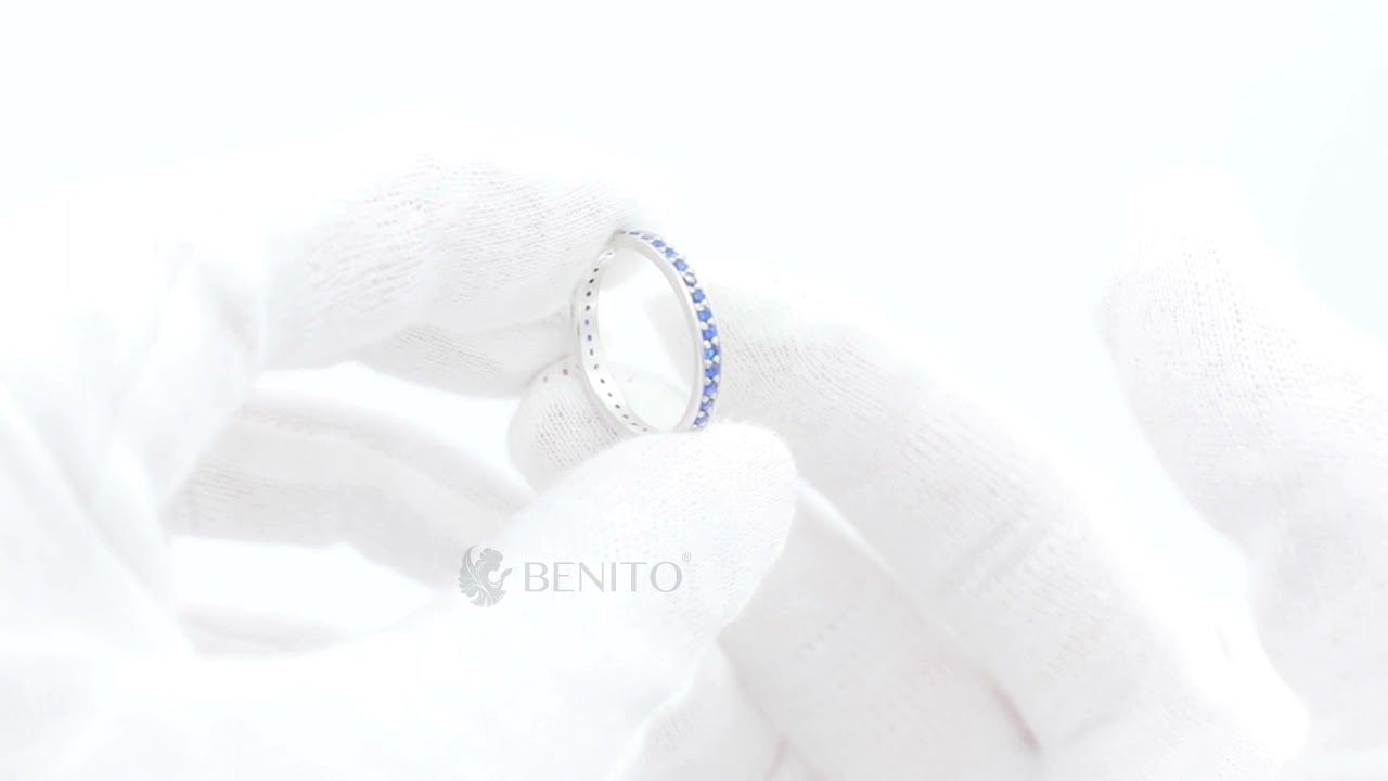 Lina Ring Blue Spinel Stones