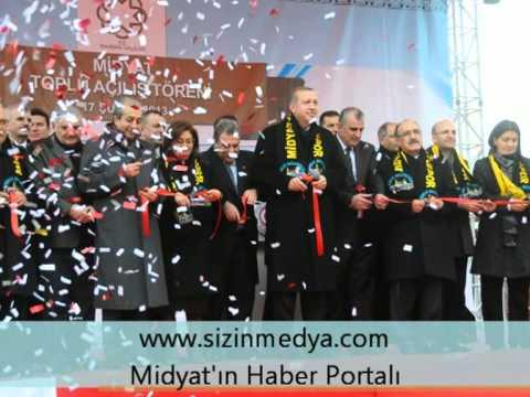 Başbakan Erdoğan'ın Midyat Ziyareti