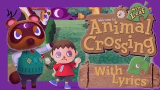VG With Lyrics | Animal Crossing: New Leaf - Town Hall