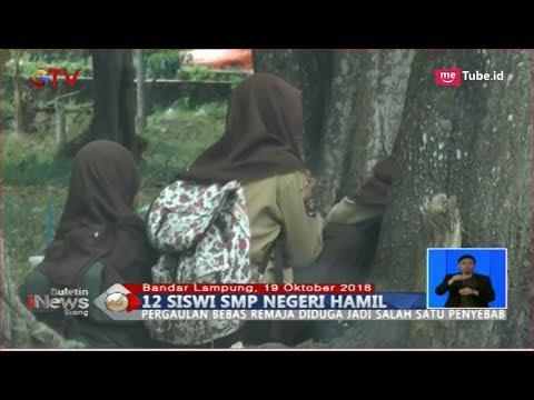 Download Video HEBOH! 12 Siswi SMP Negeri Di Lampung Hamil, Disdikbud Turun Tangan - BIS 20/10