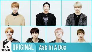 ASK IN A BOX: BTS(방탄소년단) 'Blood Sweat & Tears(피 땀 눈물)'