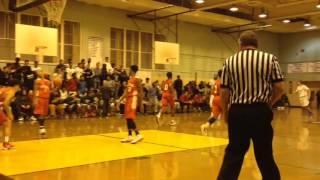 MSIT center Keyon Faulkner-Smith throws down 2 slam dunks!