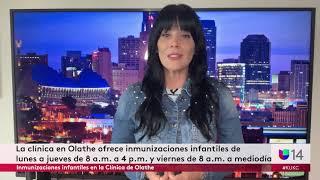 Inmunizaciones infantiles en la Clínica de Olathe