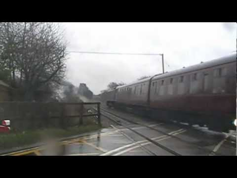 LNER A4 60009 'Union of South Africa' & 'The Christmas Yorkshireman' (RYTC) (WHISTLES) 22/12/12