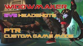 Widowmaker 6v6 PTR CUSTOM GAME MODE  Highlights