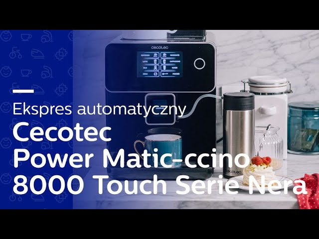 IDEALNA KAWA W DOMU? ☕ I Test ekspresu Cecotec Power Matic-ccino 8000 Touch