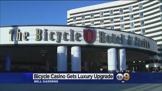 Newly-Revamped Bicycle Casino Ready For Its Closeup