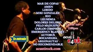 REEL ACUSTIROCK IV - Sáb. 02 de Febrero del 2013 - Estadio de San Marcos